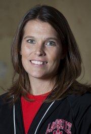 Stephanie Magnuson, LHS coach.