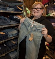 Shauna Swanson is the denim expert and personal shopper at Hobbs, 700 Mass.
