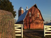 Gary Gilbert's farmhouse in Tecumseh sits on 350 acres of land. Lavishly decorated for the holidays, it was recently part of the Holiday Homes Tour sponsored by CASA in Topeka.