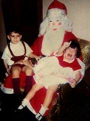 Halloween Santa