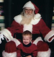 Serious Santa