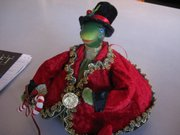 Rae Hudspeth's Frank, the turtle drag queen.
