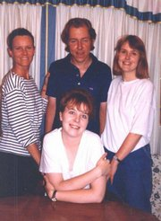 Carl Arentson, who died in October, had five of his organs donated to help save the lives of others. He is pictured with his sisters, clockwise from left, Ingrid Pearson, Christine Arentson and Karen Arentson.