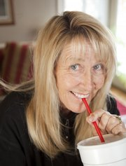 Lawrence resident Barb Forbes used to drink five 32-ounce Dr. Peppers a day. After a weaning off period, Forbes has successfully lessened her intake to two 44-ounce Diet Dr. Peppers a day.