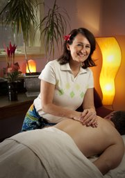 Lomi lomi practitioner Annie Stevens describes the Hawaiian form of massage as a spiritual-based body work experience.