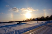 This photo was taken by Mary Mason as she was out running errands with her children Thursday, January 7, 2010.
