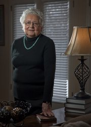 Betty Nichols, 86, has been housemother at Kansas University's Sigma Delta Tau sorority for the past four years and doesn't plan to retire anytime soon.