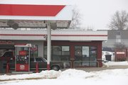 The Basil Leaf Café is the most recent restaurant to occupy the Phillips 66 Gas Station.