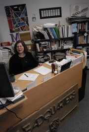 Headquarters Counseling Center director Marcia Epstein.