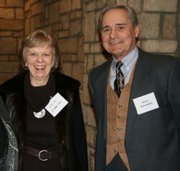 Lois and Stan Zaremba attend the Lawrence Memorial Hospital Endowment Association's annual meeting. The event was Jan. 21 at The Oread. Zaremba served on the association's board of directors. He served as president in 2008.