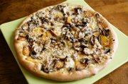 Butternut Squash, Wild Mushroom and Fontina Pizza