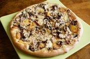 Butternut Squash, Wild Mushroom and Fontina Pizza