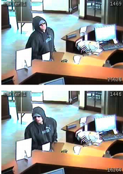 Lawrence police are asking for help to identify a man acting suspicious Friday afternoon at Peoples Bank, 31st and Iowa.