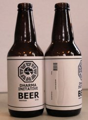 Jacki Becker's very own Dharma beer.
