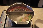 "One of the special items on Panda & Plum Garden&squot;s ""secret"" menu of traditional foods is the ""hot pot"" — a group meal that consists of poaching meats and vegetables at the table for a leisurely dining experience. Owner Lucy White says that she&squot;s had customers drive from neighboring states just to have a hot pot experience."