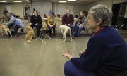 Jane Tusten has taught classes for dogs and their owners through the Lawrence Jayhawk Kennel Club for more than 35 years.