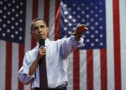 President Barack Obama takes part in a town hall meeting Friday at Green Valley High School in Henderson, Nev.