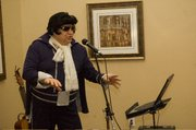 "The Rev. Francis stockton at Tonganoxie United Methodist Church has a ""career"" of impersonating Elvis Presley. Unlike Las Vegas impersonators, Stockton mainly performs at retirement communities and nursing centers."