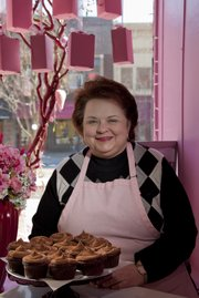 Michele Kaminski switched careers from corporate marketing to owning The Pink Box Bake Shop, 727 Mass., which opened in October 2009.