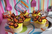 Butterfly cupcakes are one of the made-to-order creations of Atomic Bakery in Lawrence.