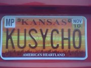 Competition for personalized license plates may be driving some Kansans crazy. A new rule limits personalized messages to one per state, not the longtime one per county.