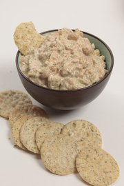 "Chickpea ""tuna"" salad by JoAnn Farb."