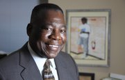 "Willie Amison, a former Kansas University football player and school principal, is the organizer of ""Can We Talk?"""