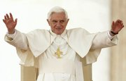 Pope Benedict XVI at St. Peter's Square on Wednesday