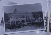 Watkins' second photo of the 'Daisy Dozer' in Woodland Park.
