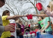 As part of the new KU campaign to encourage responsible use of alcohol, students will study the Lawrence community to identify how best to get a safe drinking message across here.
