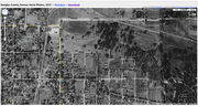 Aerial photos of Woodland Park in 1937.
