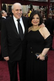 Dan Glickman and his wife, Rhoda, arrive at the 82nd Academy Awards in March in Los Angeles.