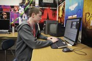 LHS senior Luke McDaneld will spend countless hours shooting and editing his projects.