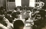 In the months before the Kansas Union fire, tensions rose at Kansas University between black students, anti-war activists and the administration.