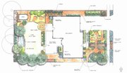 The permaculture plan for the Zells' residence.