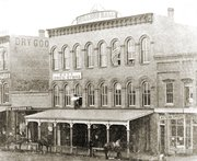 Miller's Hall in the spring of 1865, fully repaired just months after Quantrill's Raid on Aug. 21, 1863.