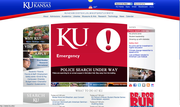 KU officials activated their emergency alert system in response to a report of an armed subject on campus.