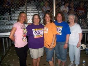 Tina Yates, of Lawrence, is pictured with her sisters and mother at a Relay For Life of Douglas County event. From left are: Cindi Zimmerman, Linda McCormack, a breast cancer survivor, Denise Cummings, Tina Yates, and their mother, Virginia Lipke, a breast cancer survivor.