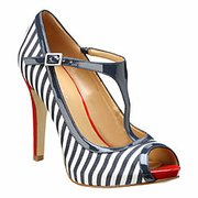 Nine West nautical heels.