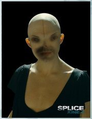 Jon Niccum splices himself with the character Dren from &quot;Splice.&quot;