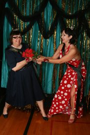 Photo from previous year's Harveyville prom.