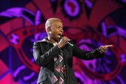 Singer Angelique Kidjo of Benin performs during the opening concert for the soccer World Cup at Orlando stadium in Soweto, South Africa.