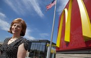 Franchise owner Marilyn Dobski is pictured outside the Sixth Street and Wakarusa Drive McDonald's location. Dobski owns 13 franchises in northeast Kansas. Dobski is among the inaugural inductees to the Lawrence Business Hall of Fame.