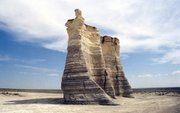 Monument Rocks, in Gove County.