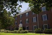 Battenfeld Hall, 1425 Alumni Place, opened in 1940 and is the oldest men's scholarship hall.