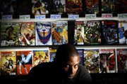 Chris Rosa, store manager at Meltdown Comics, feels that digital comics will not replace the demand for physical comics. The store was enjoying brisk sales ahead of Comic-Con being held over the weekend in San Diego.