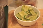 "Fresh pickles made with Hopps ""Citra"" were just part of the pairings at The Community Mercantile."