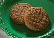 Whole Wheat Peanut Butter Cookies by Macy Frost.