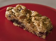 Honey, Fruit, Pine Nut and Almond Traveler's Bars by Morgan Manger.