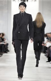 Ralph Lauren fall 2010 runway fashion.